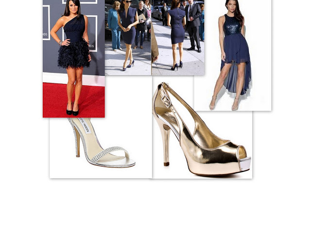 What Color Shoes Should You Wear With Your Navy Blue Dress ...